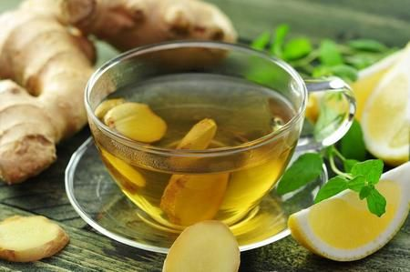 Чай с имбирем и лимоном как сделать