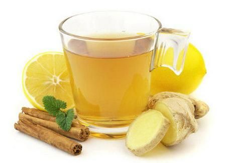 Медово-имбирный напиток с лимоном