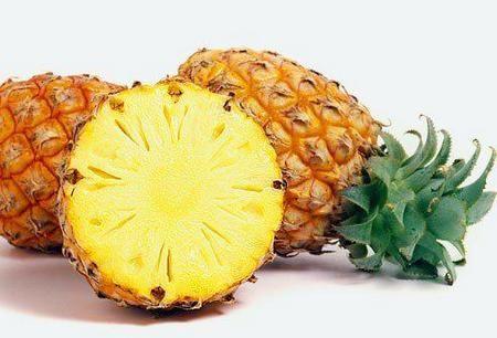 Зрелый ананас