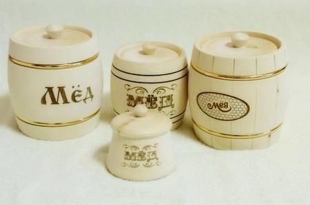 Бочонки для хранения меда