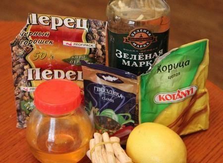 Мед перец от простуды