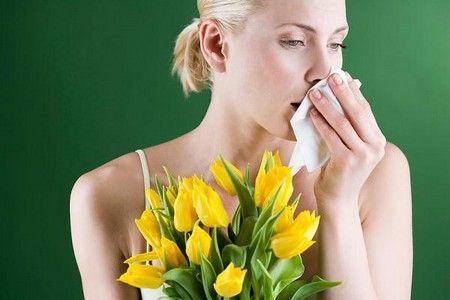 Отвар применяется при аллергиях