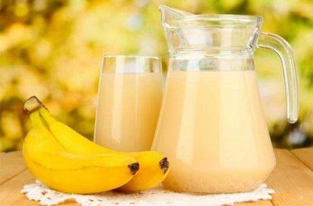 Банановый коктейль
