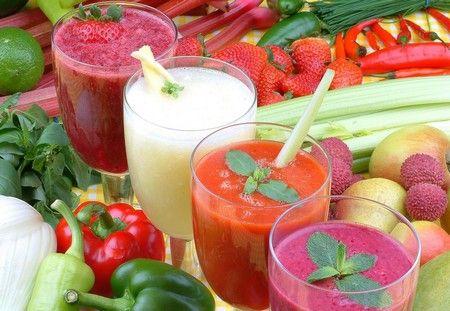 Полезные, вкусные и красивые смузи