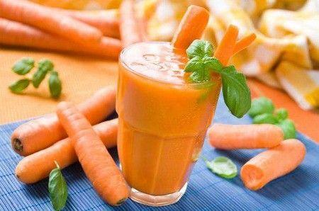 Смузи с морковью