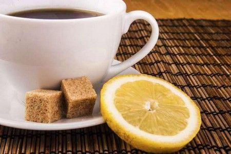 Пряный кофе с лимоном