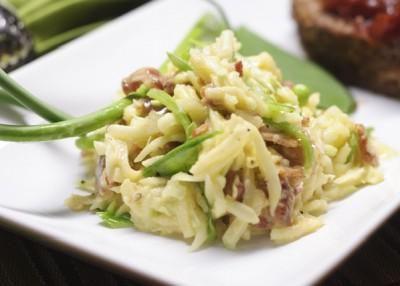 Салат из кольраби с мясом
