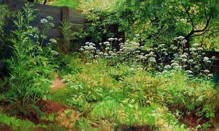 Этюд И.И.Шишкин «Сныть-трава. Парголово»