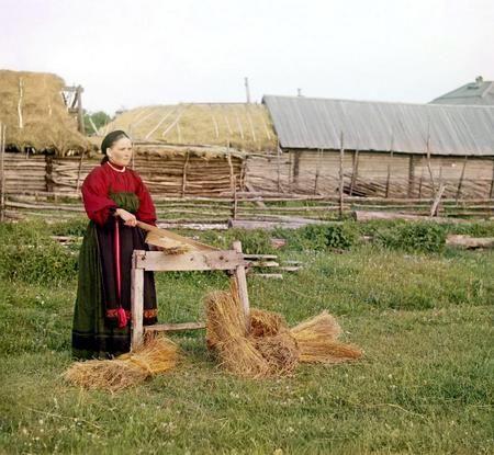 Лен - традиционная для нас культура