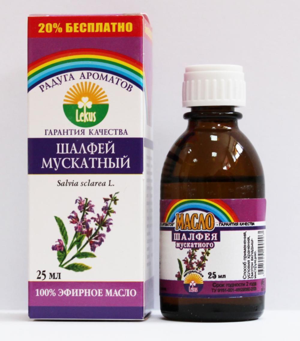 шалфей эфирное масло для волос