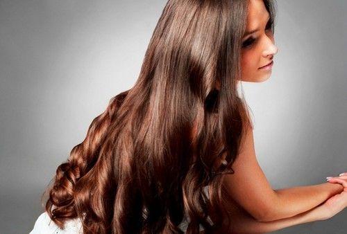 Копна густых красивых волос