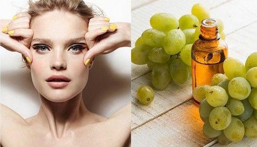 Маски для лица с маслом винограда