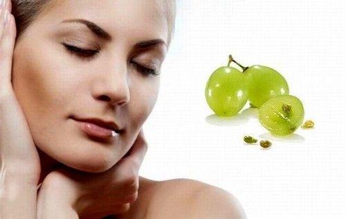 Масло косточки винограда для лица