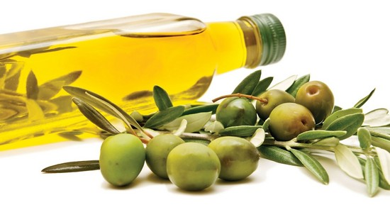 Оливки и масло