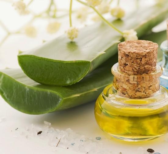 Алоэ и оливковое масло