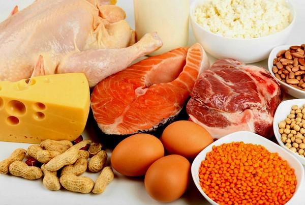 Продукты для белкового разгрузочного дня