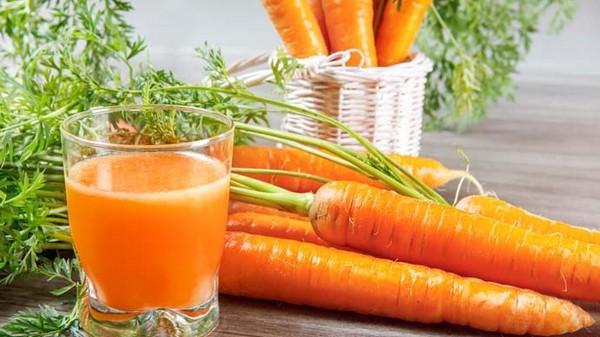 Морковь и сок из нее