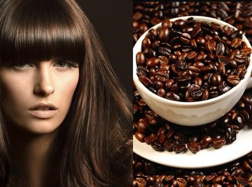 Кофе как краситель для волос
