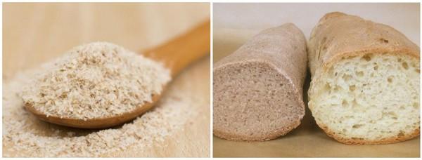 Хлеб с добавлением псиллиума