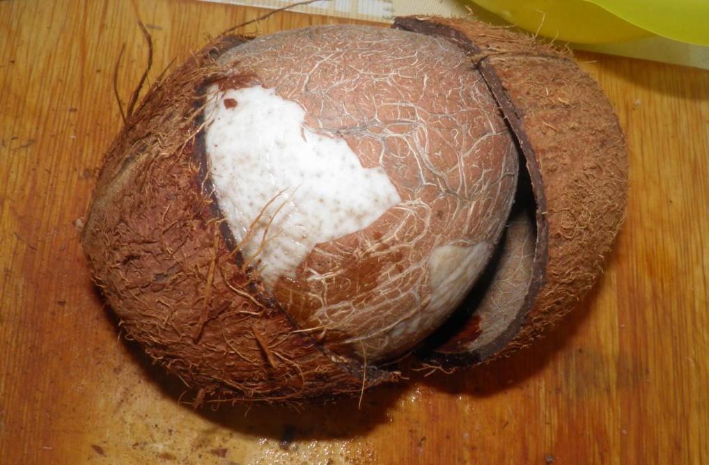 Как очистить кокос