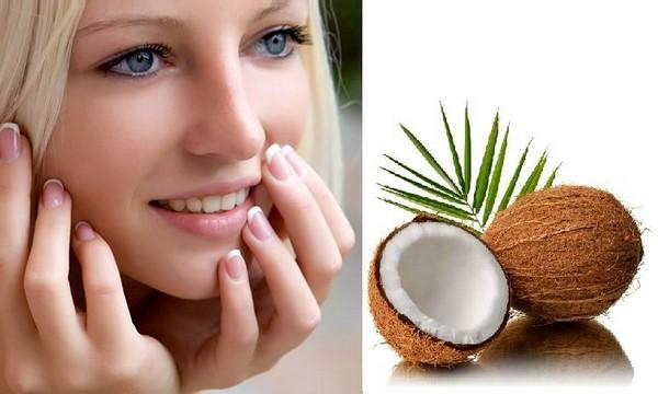 Кокос, а именно его масло, активно применяется в уходе за кожей