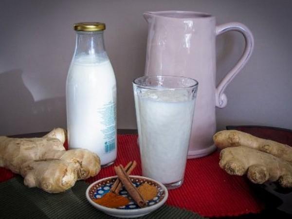 Молочные продукты и имбирь