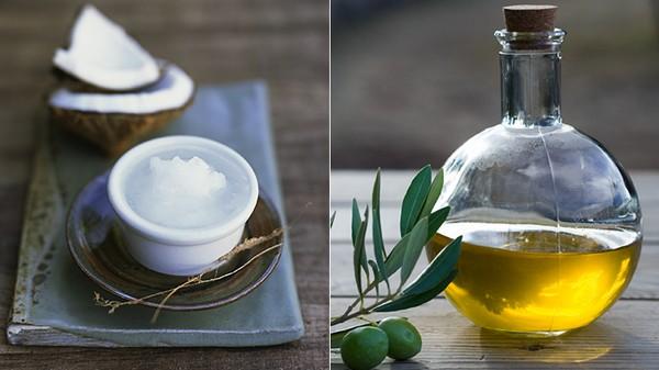 Масло кокосовое VS оливковое