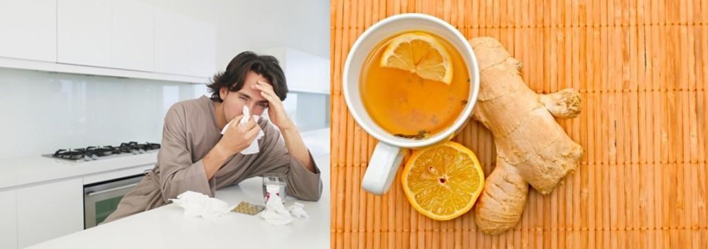 При простуде поможет имбирь