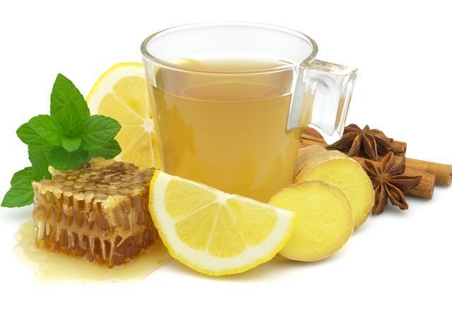 Напиток с медом, лимоном, имбирем и специями