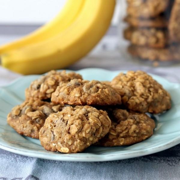 Печенье с бананом