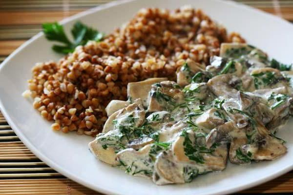 Вкусное блюдо из гречки