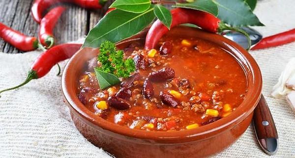 Острый мексиканский суп