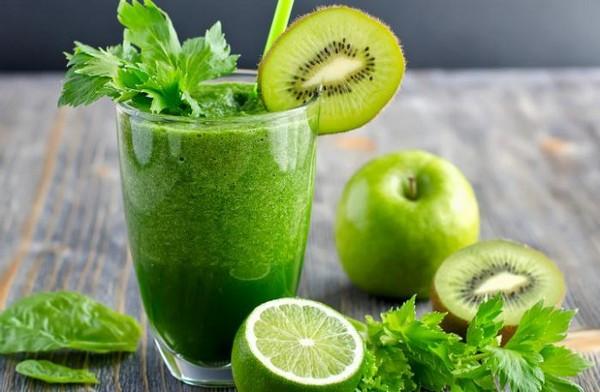 Смузи из зеленых фруктов