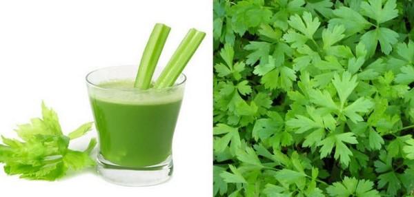 Зелень полезна для здоровья