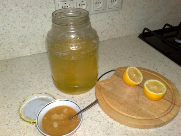 Мед и лимон