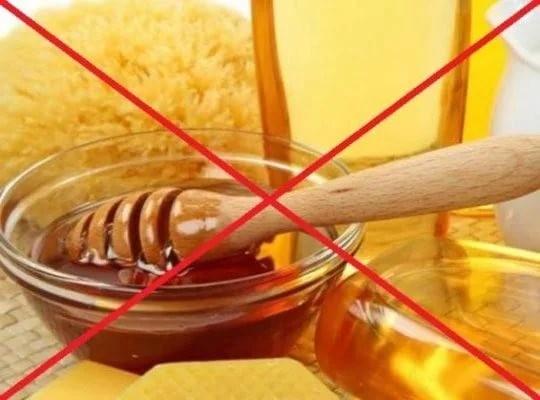 Противопоказания к применению меда