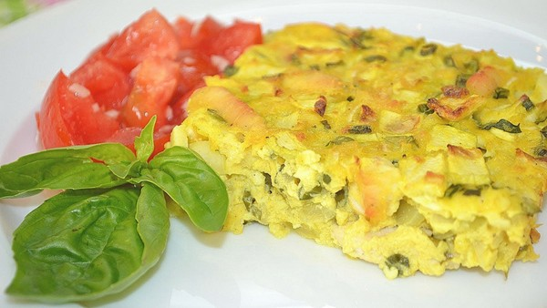 Вкусное блюдо из овощей
