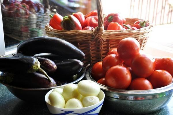 Спелые овощи для заготовки
