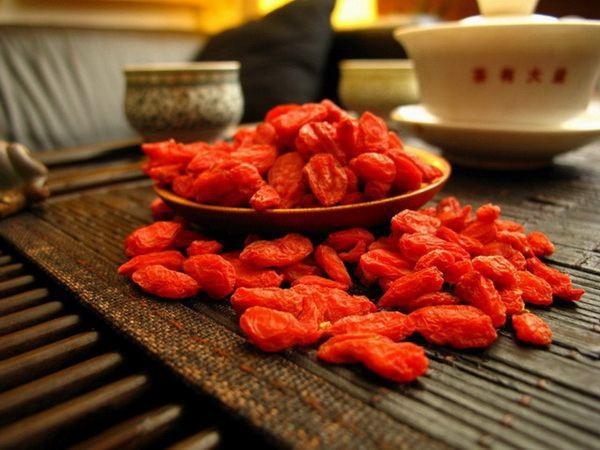 Правильные ягоды Годжи - основа хорошего чая