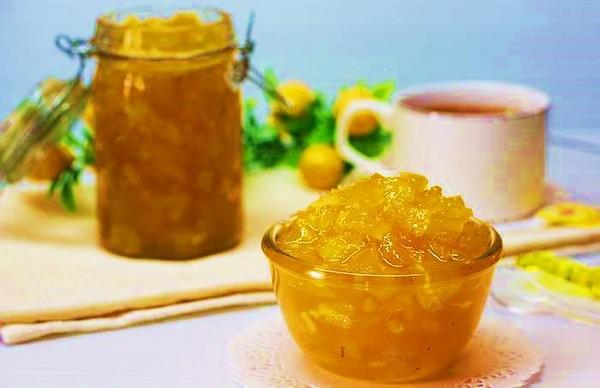 Кабачок и ананас - отличное сочетание
