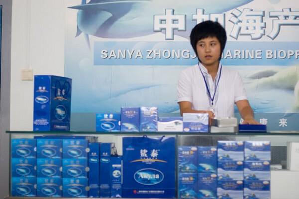 Жир акулы из Китая