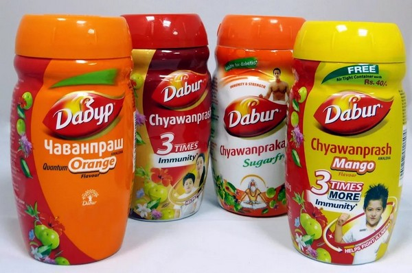 Chyawanprash dabur - разные вкусы