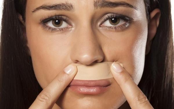 Эпиляция области под носом