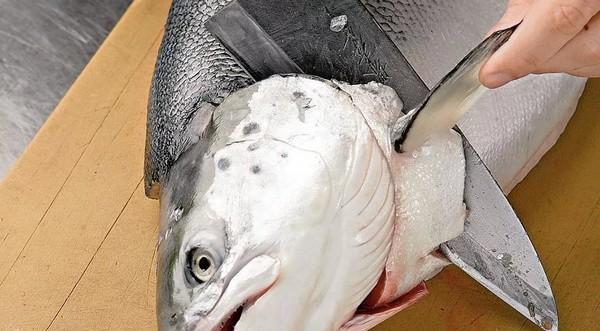 Разделка рыба