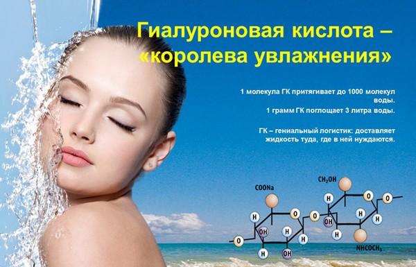 Гиалуроновая кислота для увлажнения