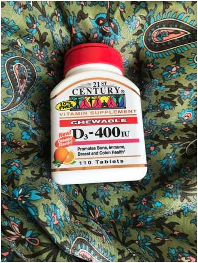 витамин D3 от «2st century»
