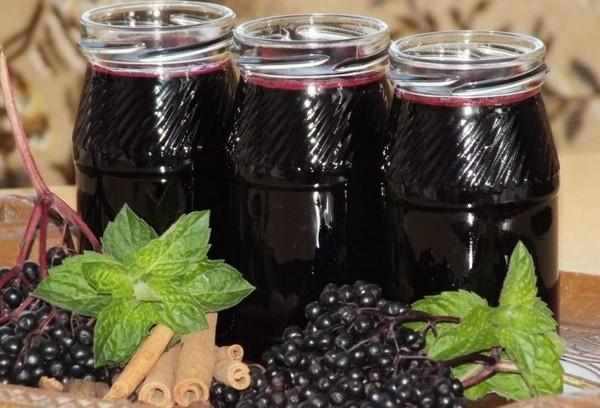 Сок из плодов бузины