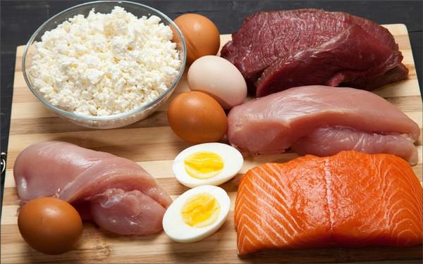 Мясо, птица, рыба, яйца, творог