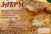 Применение пчелиного забруса