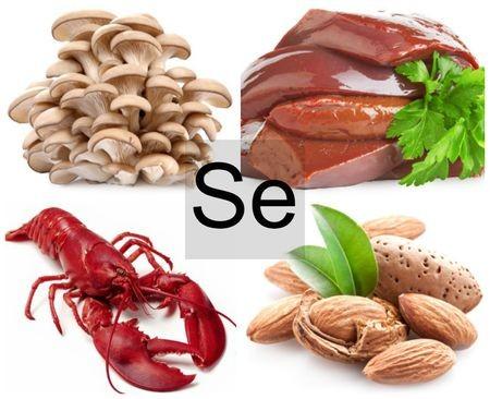 Продукты, содержащие селен